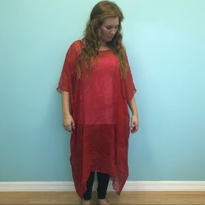 Bamboo Silks Go Over Cover up dress